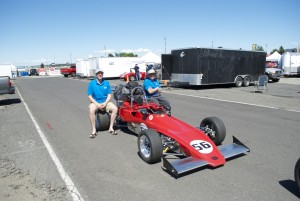 Frank Winterlik and Oliver Teal with Royale Super Vee