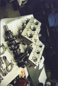 906 Carrera 6 Engine component