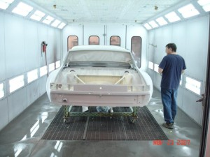 914 6 Paint booth