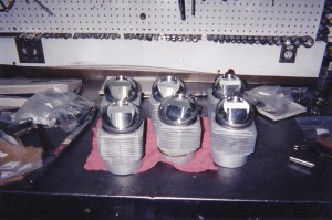 98 mm J and E pistons