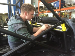 Club Sport car roll cage