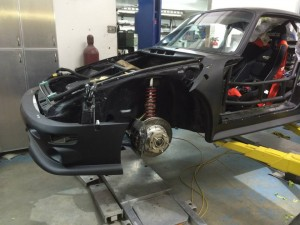 993 Cup Car body fitting