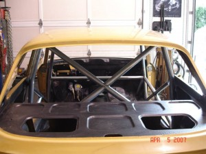 Alpha GTV Roll Cage built by 900 Werks