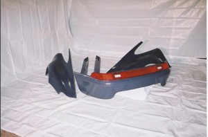 Club Sport rear bumper and light bar
