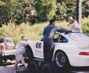 Development of Porsche 993 Club Cup Car Body Kit 4