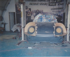 Development of Porsche 993 Club Cup Car Body Kit 5