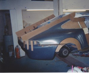 Development of Porsche 993 Club Cup Car Body Kit 6