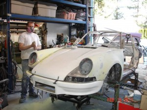Porsche RSR Conversion at 900 Werks