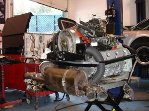 Restored turbo engine 2
